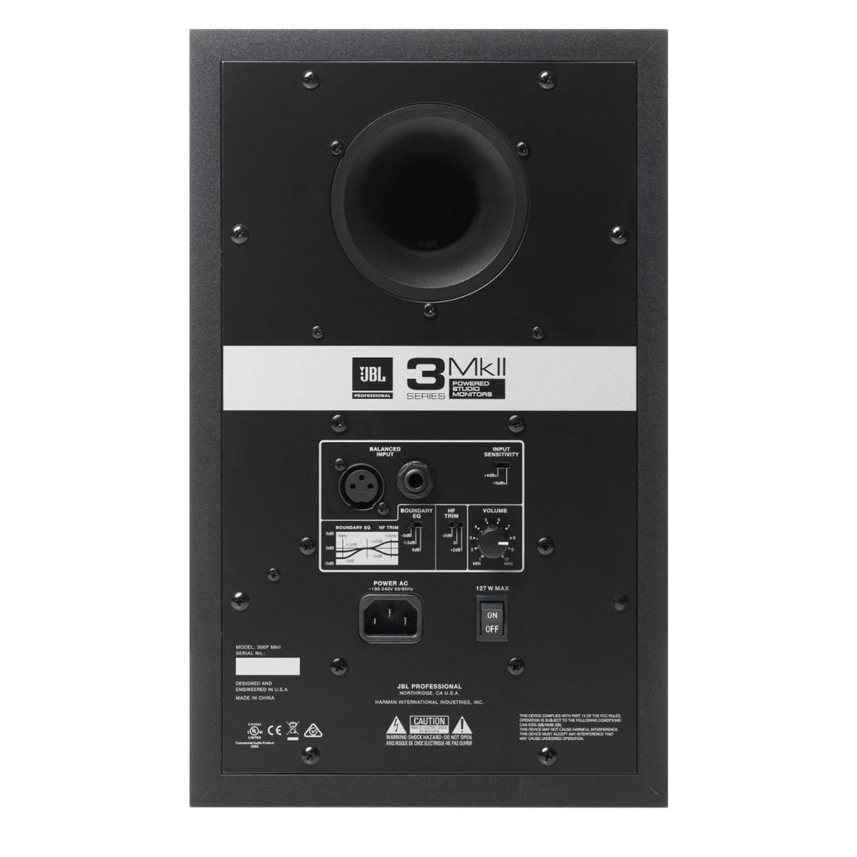 "JBL 306P MKII 6"" Stereo Pair of Powered Studio Monitors Bundle with LSR310S 10"" Subwoofer"