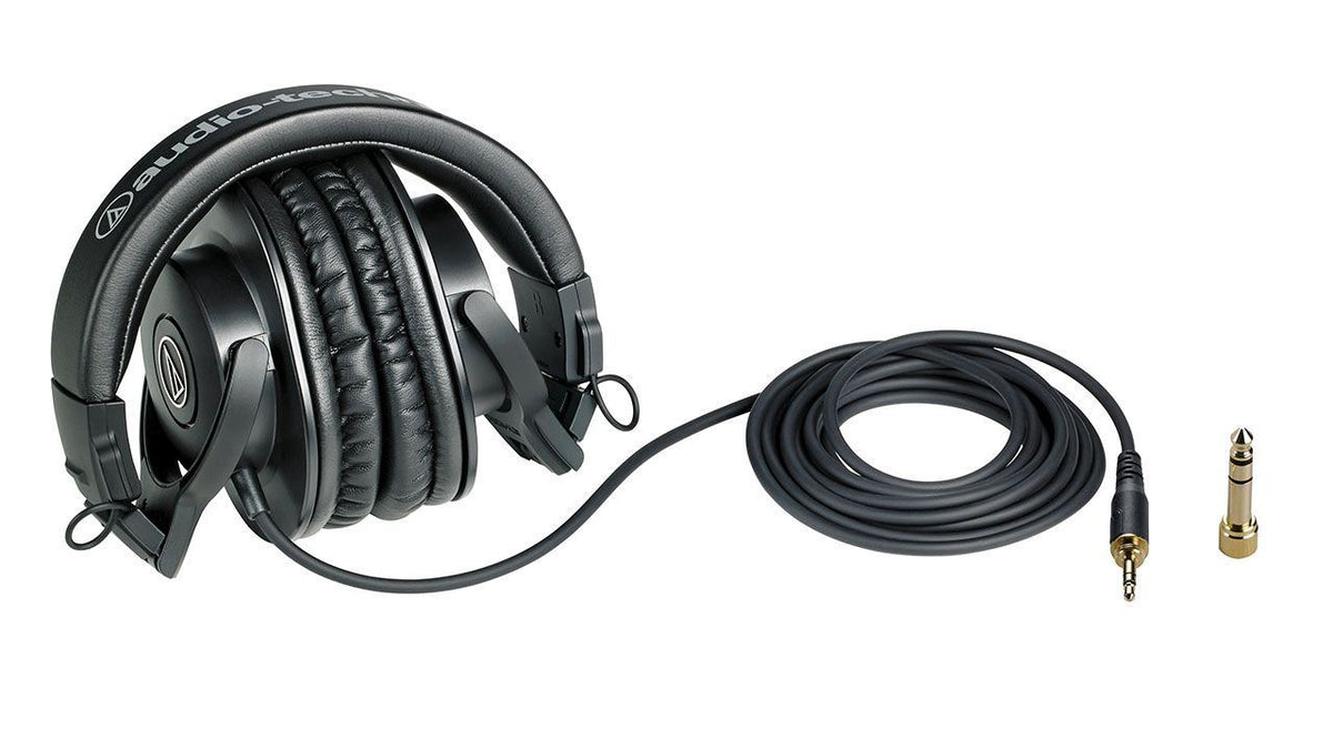 Avantone CLA-10A Active Studio Monitor Pair w/ Audio-Technica ATH-M30X Headphones Bundle