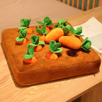 Carrot Field Dachshund Pull Toy