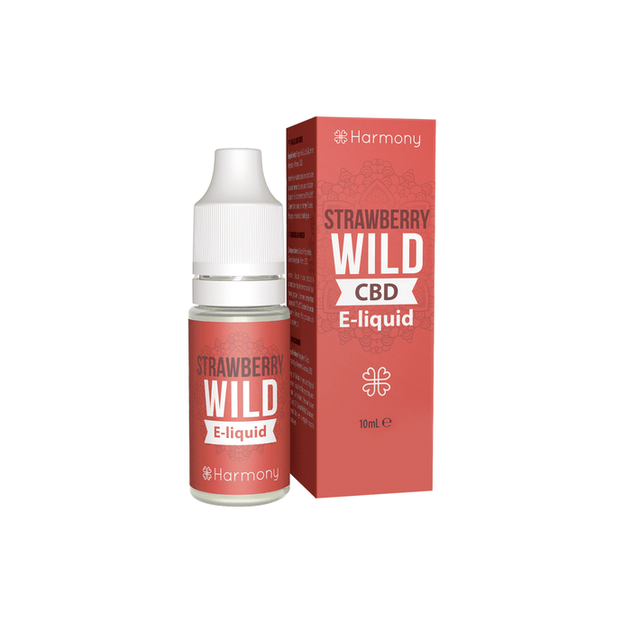 CBD E-Liquid 'Strawberry Wild'-CBD E-Liquid-CBD online kaufen-CBD Shop Essen
