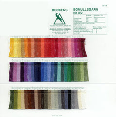 Bockens 8/2 Cotton Sample Card