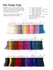 Jaggerspun Maine Line Sample Card