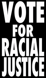 BLM Series - Black Tee - Vote for Racial Justice