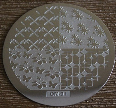 Stamping Plate - OM - 10pcs