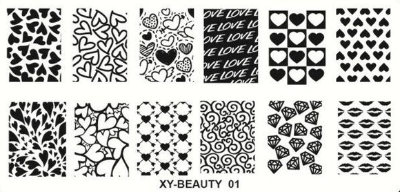 Stamping Plate - XY-Beauty