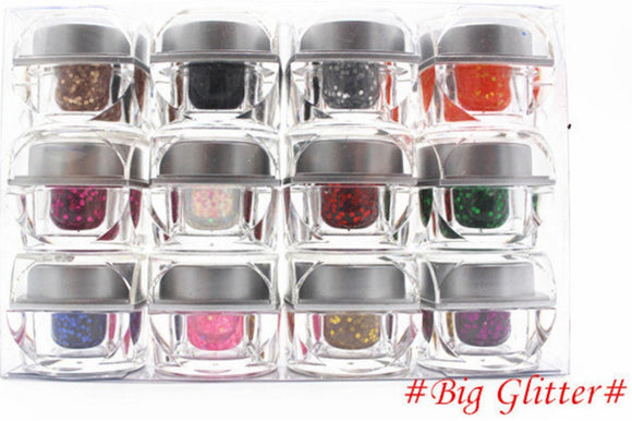 UV Colour Gel 12pcs