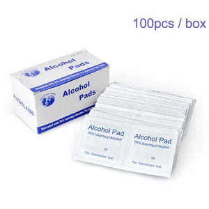 Alcohol Pads/Wipes 100pcs