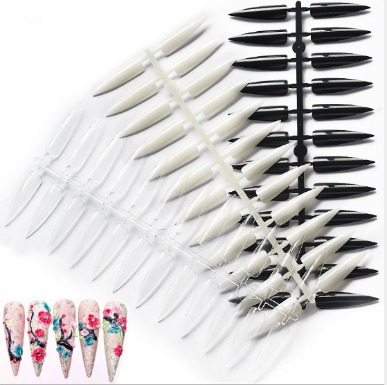 Salon Stiletto Display Tips - 240pcs