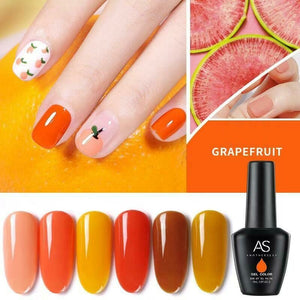 AS - UV Gel Polish - Grapefruit/Olive