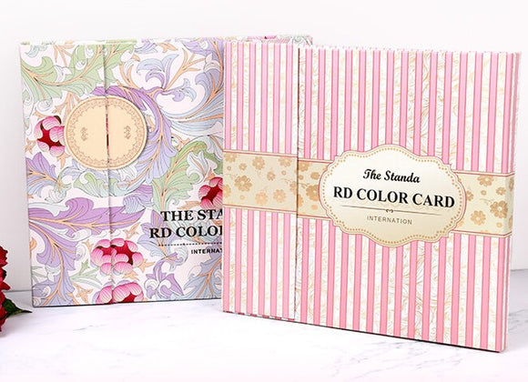 Colour Display Book - Floral & Pink Stripe - #120