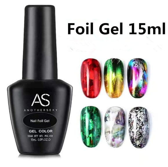 AS - UV Gel Polish - Foil Gel