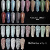 Vendeeni - UV Gel Polish - F06 Diamond Chipping