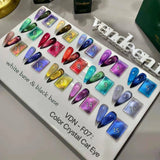 Vendeeni - UV Gel Polish - F07 Crystal Cat Eye