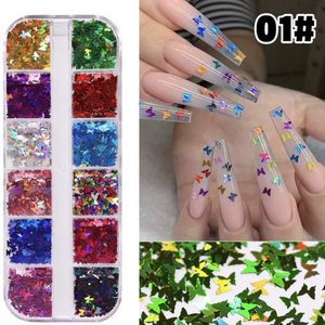 Nail Decoration - Butterfly - #01