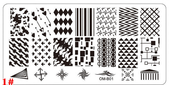 Stamping Plate - OM-B - 5pcs