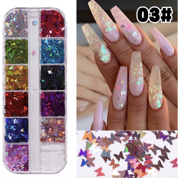 Nail Decoration - Butterfly - #03
