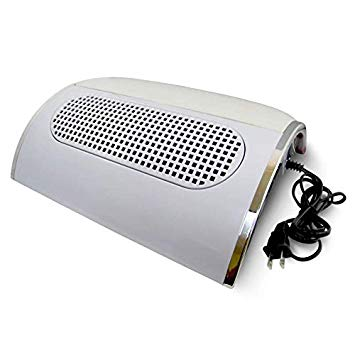 Nail Dust Collector / Extraction Fan - White