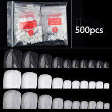 Toe Nail Tips - 500pcs - Bag