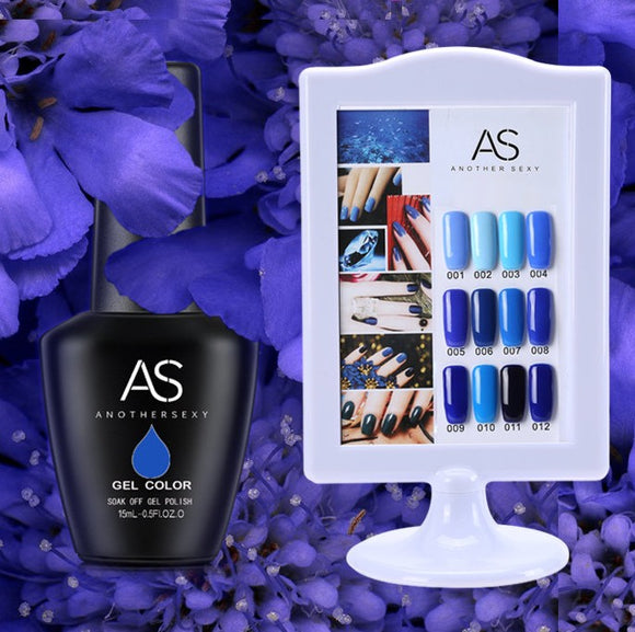 AS - UV Gel Polish - Blue Series