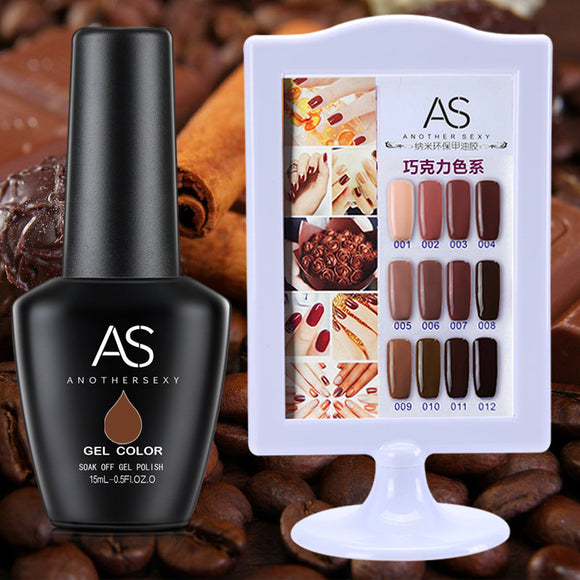 AS - UV Gel Polish - Brown Series