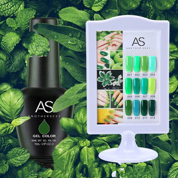 AS - UV Gel Polish - Green Series