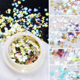 Nail Decoration - Flake - 6pcs