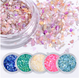 Sequins - Little Stones 6pcs
