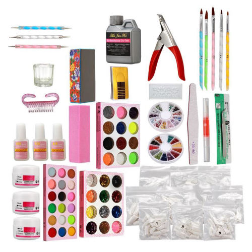 Acrylic Nail Kit - Large