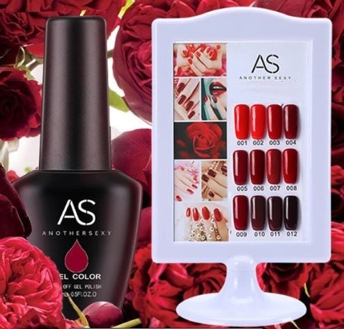 AS - UV Gel Polish - Red Wine Series