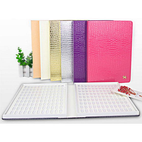 Colour Display Book - Crocodile Pattern - #160