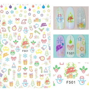 Sticker - Christmas (F501)