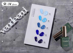 Vendeeni - UV Gel Polish - 5pcs Set - H14
