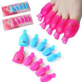 Soak Off - Toe Reusable Keeper - 5pcs