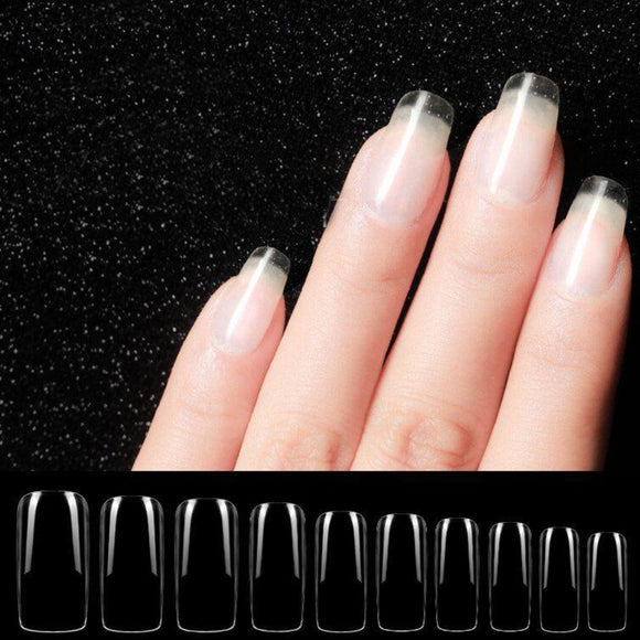 Full Nails Tips (Soft) - Full Cover - 100pcs - Box