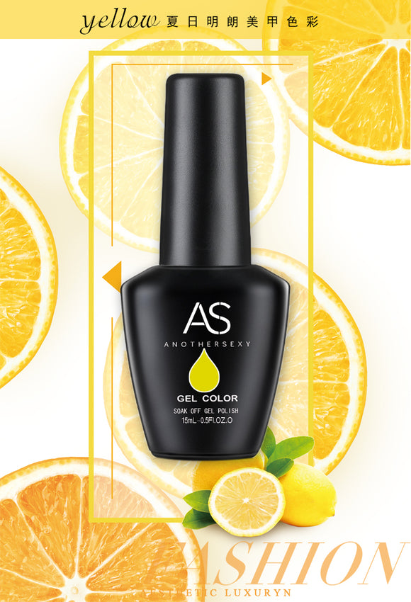 AS - UV Gel Polish - Yellow Series