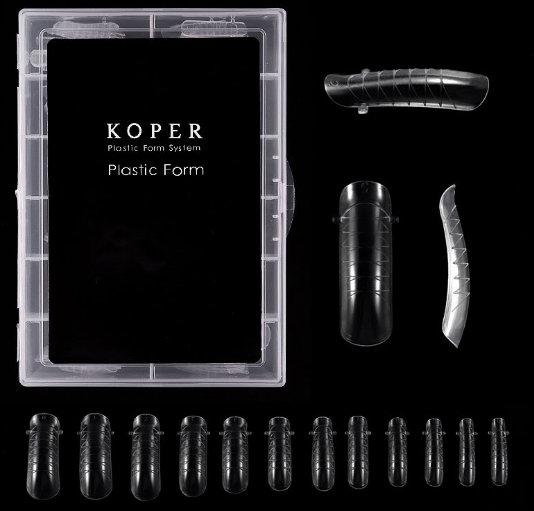 Koper Re-Usable Dual Form 120pcs for Poly Gel