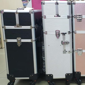 Storage Case - Professional Beauty Case / Make up Case - 2 Layer (small)