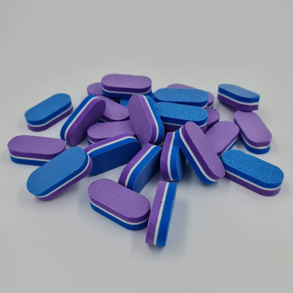 Block Buffer - Purple/Blue - Mini