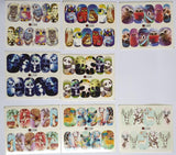Water Slide Decals - Animals & Dreamcatchers - 48pcs