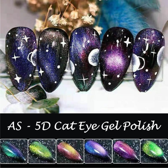 AS - UV Gel Polish - 5D Cat Eye