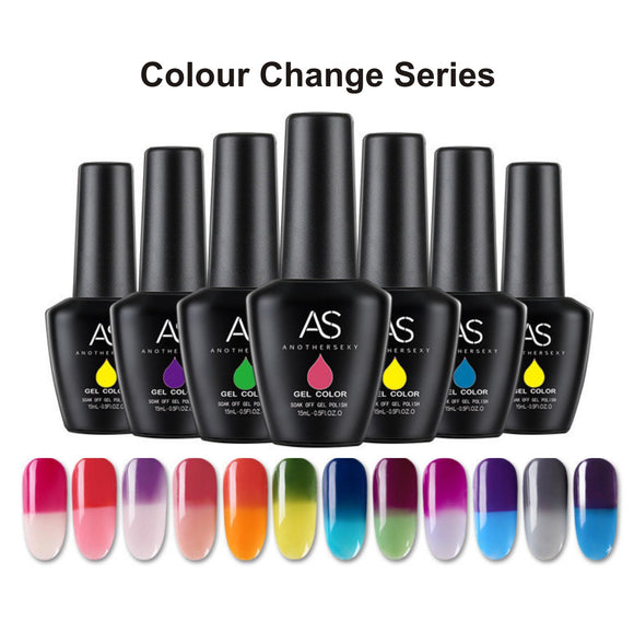 AS - UV Gel Polish - Colour Change Series