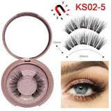 Magnetic Eyelashes & Eyeliner Set - 1 Pair - KS02