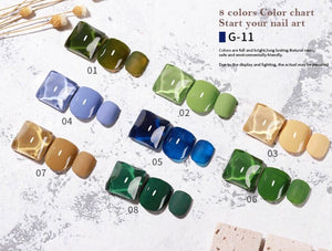 Vendeeni - UV Gel Polish - G-11 - 8pcs