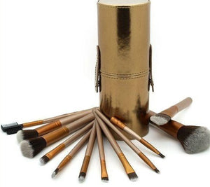 N2 - Makeup Brush - 12 Piece Set with Holder