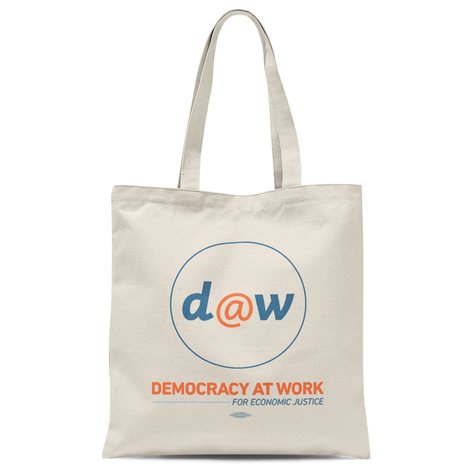 Democracy At Work Tote Bag