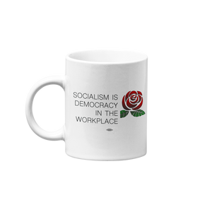 Socialism is Democracy in the Workplace Mug