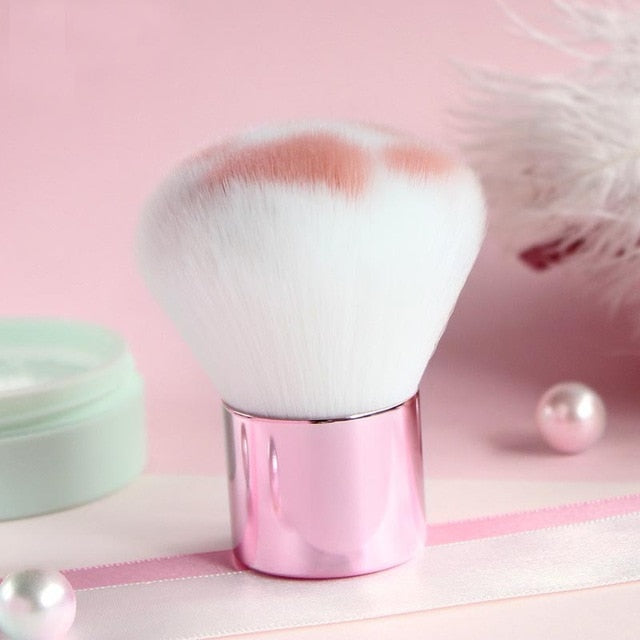 Kawaii Cat Paw Shaped Soft Cosmetics Foundation Brush - 1 ea. - Unique Cat Gifts