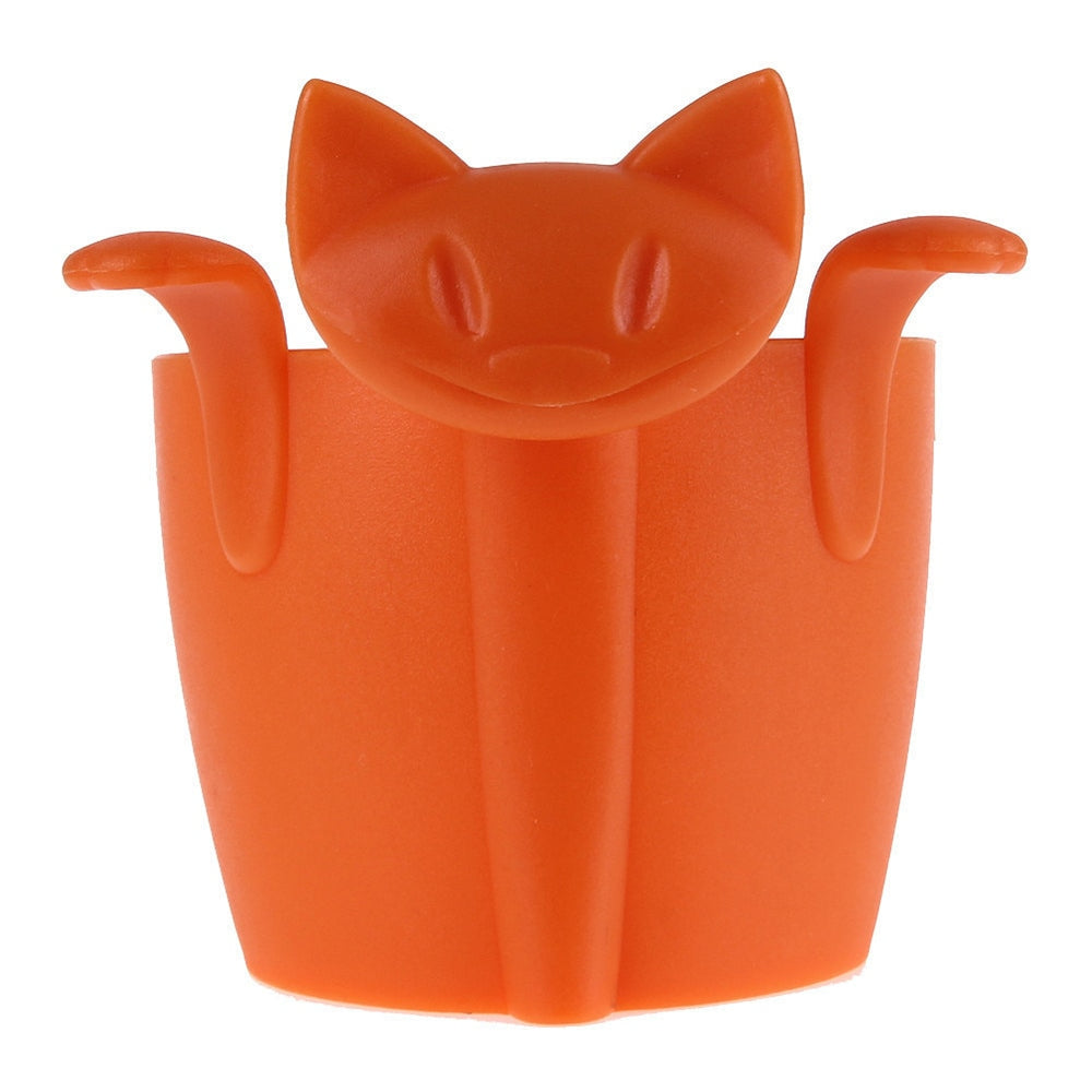 Tea Catty Cat Shaped Large Silicone Tea Leaf Infuser - Unique Cat Gifts