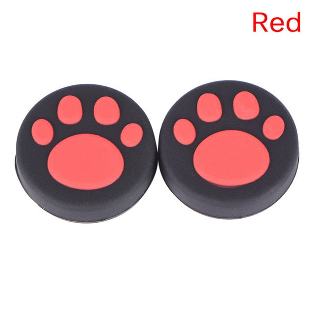 Cat Paw Rubber Silicone Joystick Thumb Grip Cap For PS3 or PS4 - 2 ea. - Unique Cat Gifts
