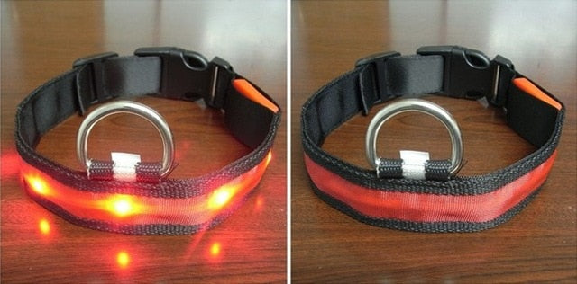 Safety Cat LED Night Safety Anti-lost Flashing Glow Cat Collars - Unique Cat Gifts